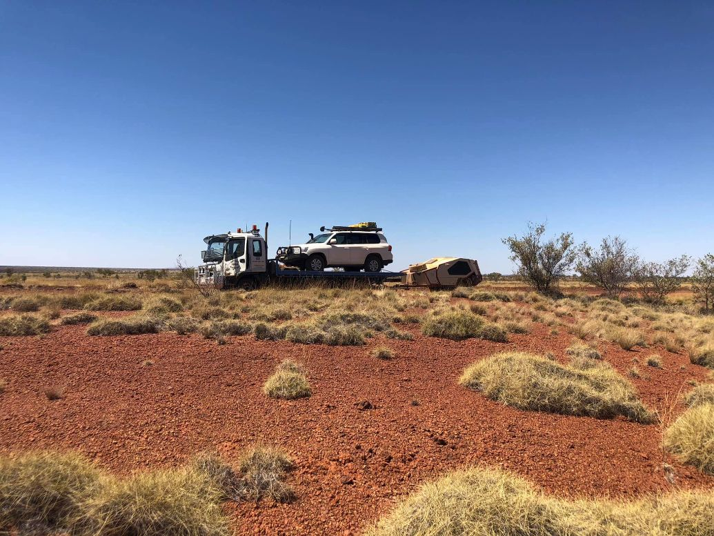 4x4 and Trailer — Roadside Assistance in Alice Springs
