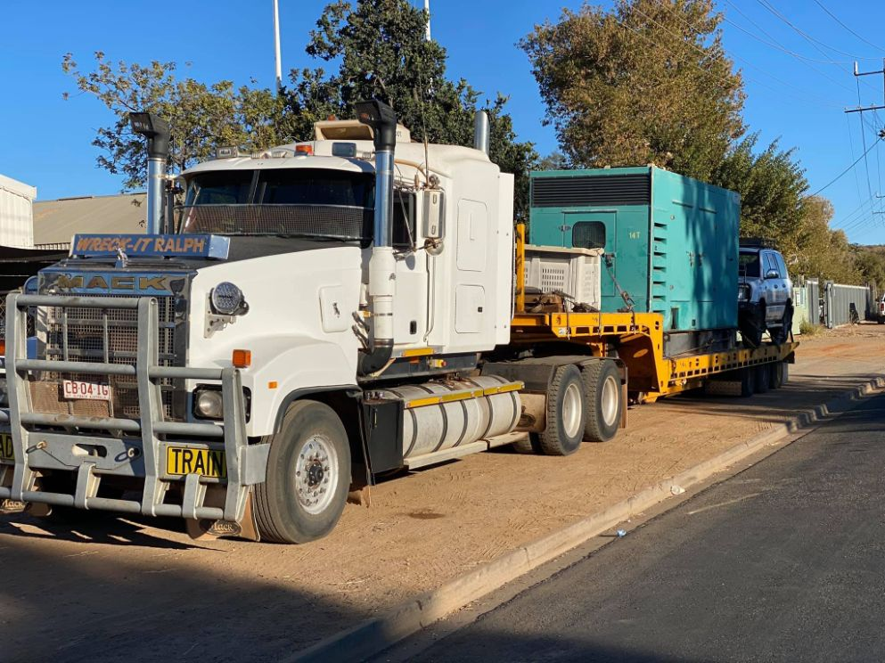 Wreck It Ralph- Semi Truck Outback — Roadside Assistance in Alice Springs, NT
